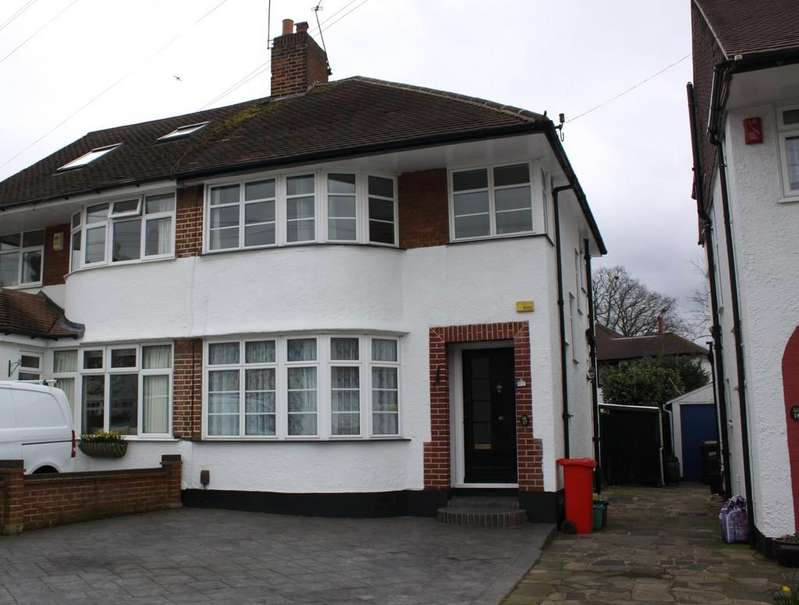 3 Bedrooms Semi Detached House for sale in Fieldway, Petts Wood East