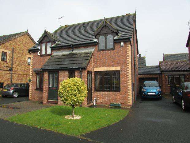 2 Bedrooms Semi Detached House for sale in GREENFINCH CLOSE, MIDDLEWARREN, HARTLEPOOL