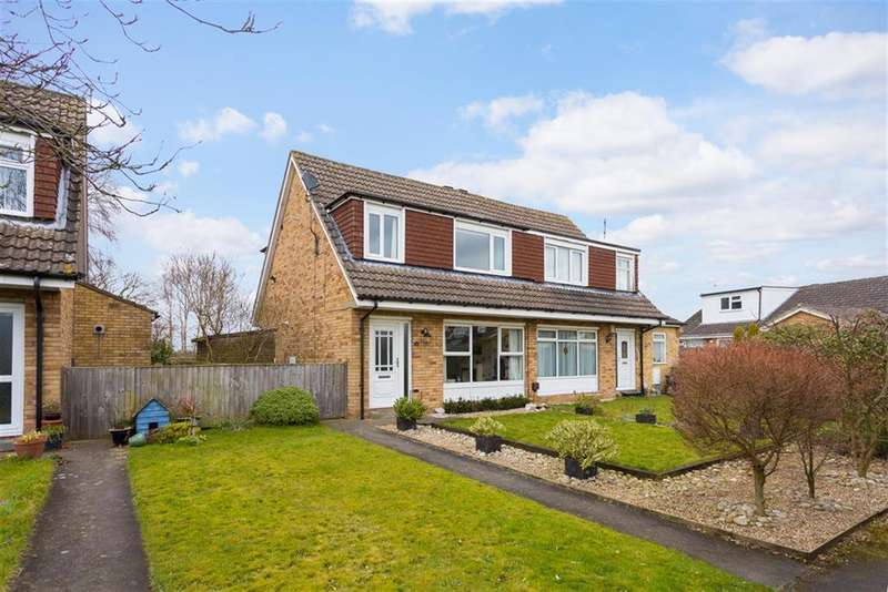 3 Bedrooms Semi Detached House for sale in Castle Close, Wigginton, York, YO32 2HR