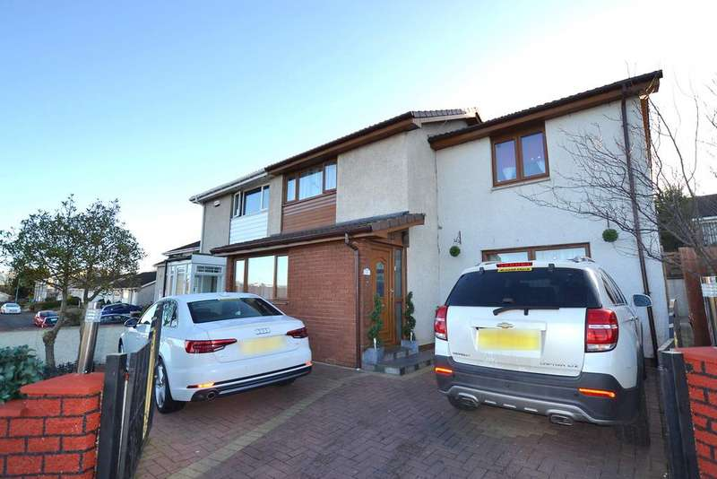4 Bedrooms Semi Detached House for sale in 2 Cambourne Road, Glasgow, G69 0PG