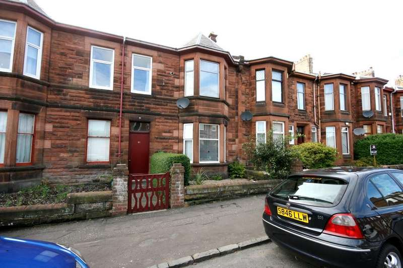 1 Bedroom Ground Flat for sale in 61b Fullarton Street, Kilmarnock, KA1 2JL