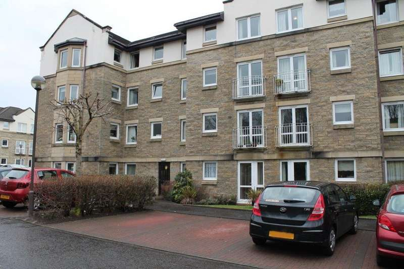 1 Bedroom Retirement Property for sale in Flat 47 Kelburne Court, 51 Glasgow Road, PAISLEY, PA1 3PD