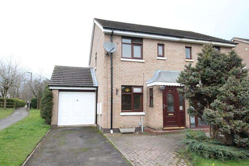 2 Bedrooms Semi Detached House for sale in Rochford Court, Shirley, Solihull