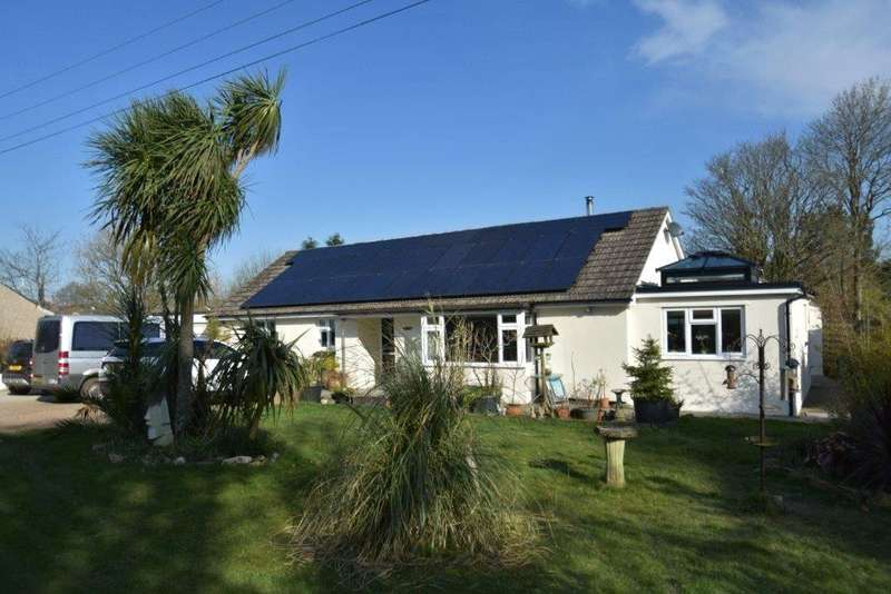 4 Bedrooms Detached Bungalow for sale in Talskiddy, St. Columb