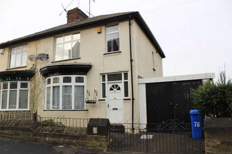 3 Bedrooms Semi Detached House for sale in Carlton Road, SHEFFIELD, South Yorkshire