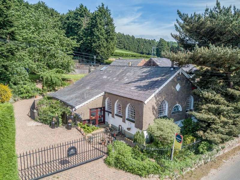 6 Bedrooms Detached House for sale in Delamere Chapel House, Willington, CW6 0ND