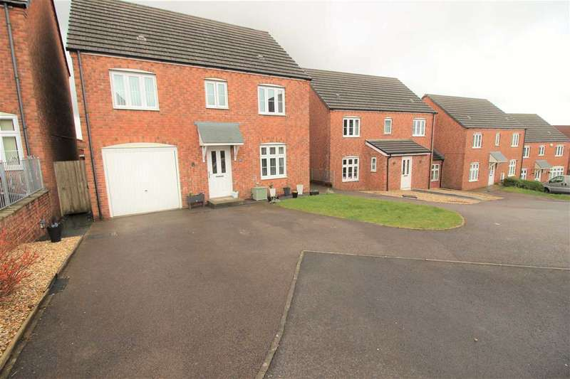4 Bedrooms Detached House for sale in Llewellyn View, Porth