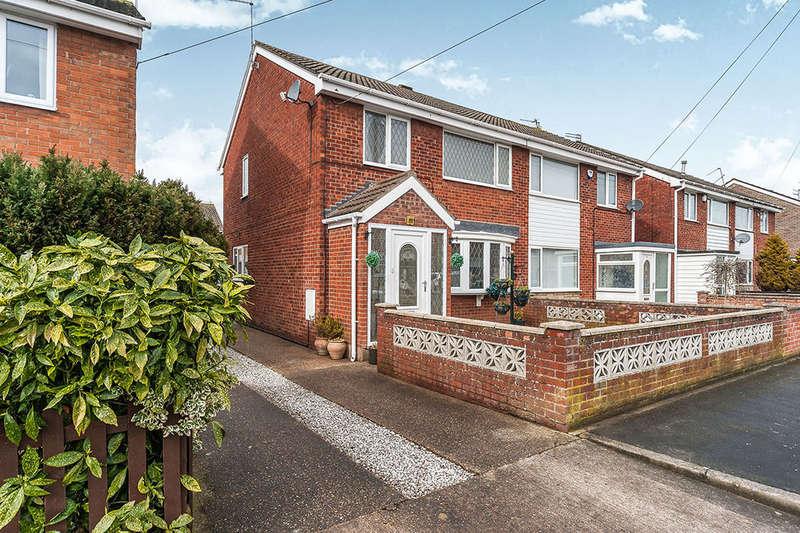3 Bedrooms Semi Detached House for sale in Flemingdale, Hull, HU7
