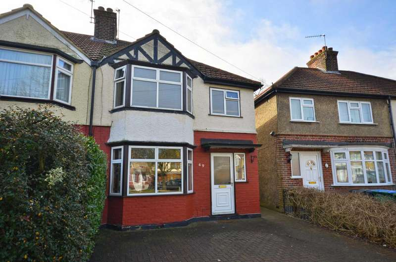 3 Bedrooms Semi Detached House for sale in Maytree Crescent, Watford, Hertfordshire, WD24