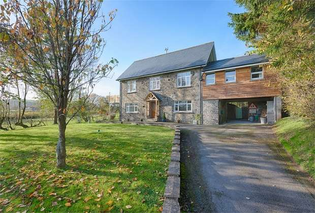 4 Bedrooms Detached House for sale in Cynghordy, Llandovery, Carmarthenshire