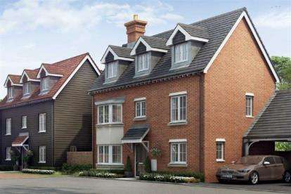 4 Bedrooms Detached House for sale in Wyborne Park, Star Lane, Great Wakering
