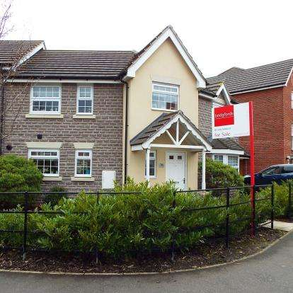 3 Bedrooms Link Detached House for sale in Abbey Park Way, Weston, Crewe, Cheshire