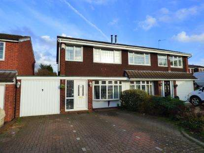 3 Bedrooms Semi Detached House for sale in Brambling, Wilnecote, Tamworth, Staffordshire