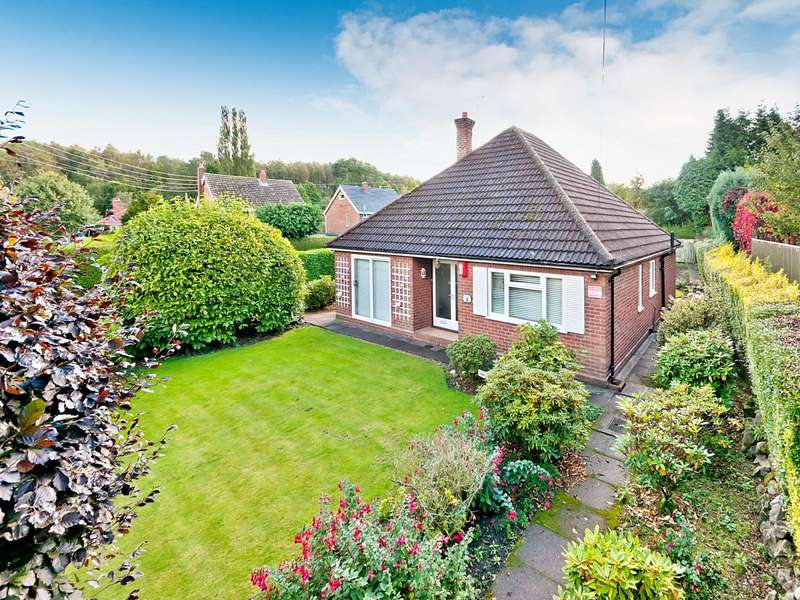 2 Bedrooms Detached Bungalow for sale in Bonnyrigg, Arleston Village, Arleston, Telford, Shropshire, TF1