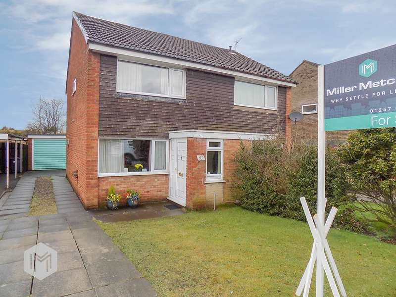2 Bedrooms Semi Detached House for sale in Countess Way, Euxton, Chorley, PR7