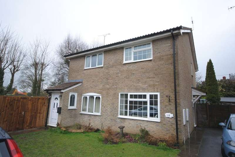 2 Bedrooms Semi Detached House for sale in Fiveways Close, Cheddar