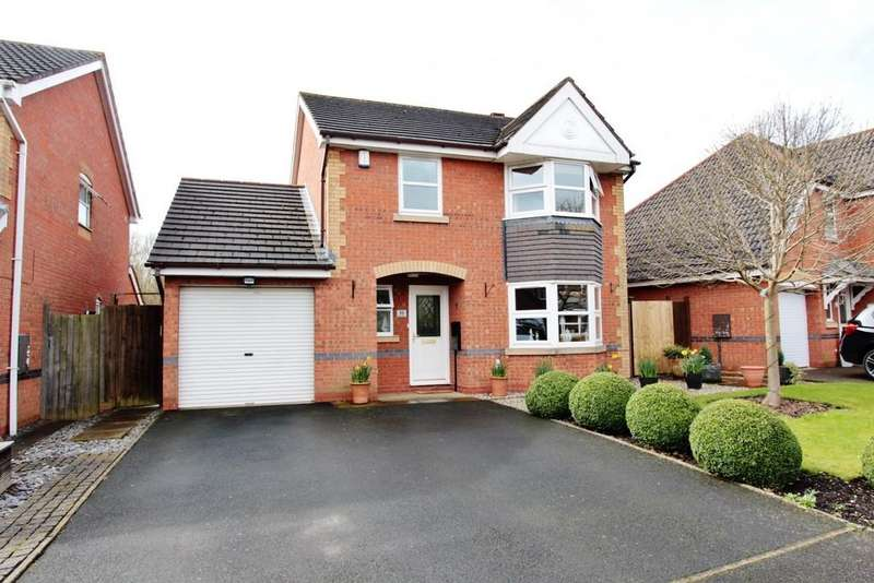 4 Bedrooms Detached House for sale in Reedmace, Kettlebrook