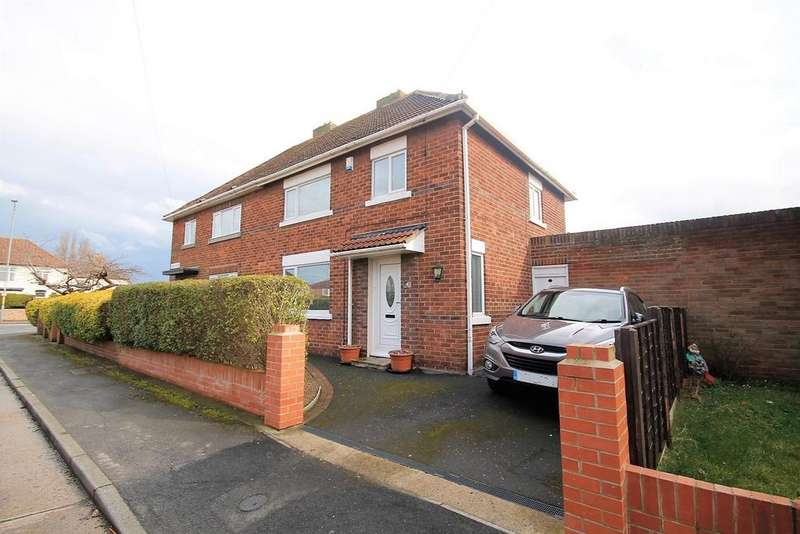 3 Bedrooms Semi Detached House for sale in Dacre Close, Thornaby, Stockton-On-Tees