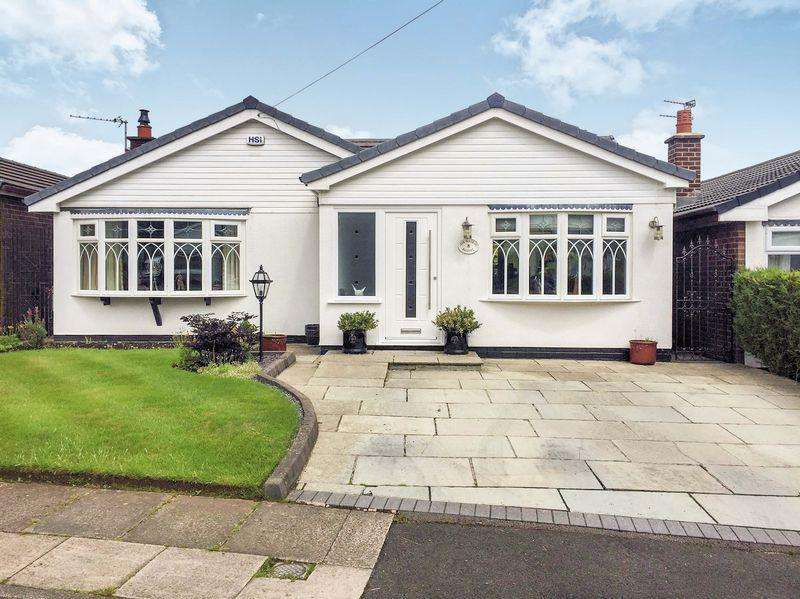 3 Bedrooms Detached Bungalow for sale in Adlington Close, Seddons Farm