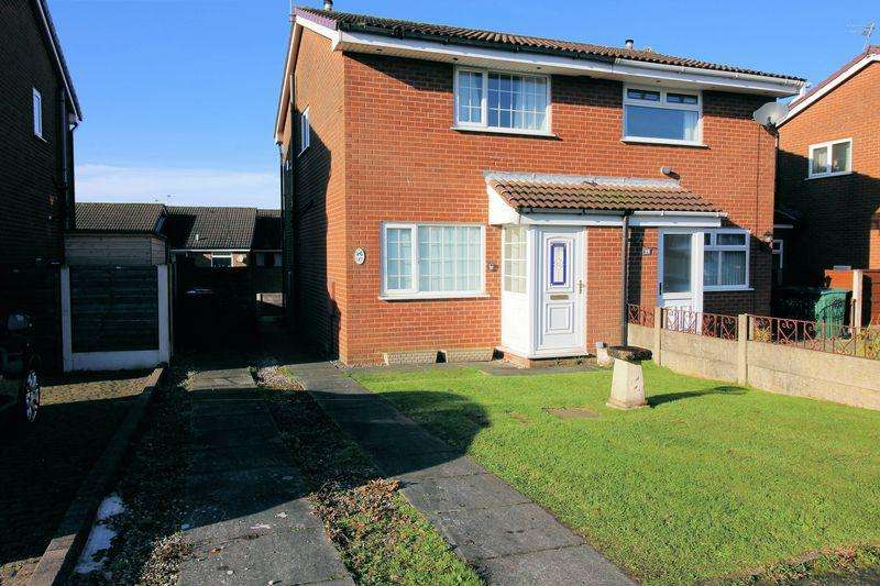 2 Bedrooms Semi Detached House for sale in Wheatfield Close, Bury