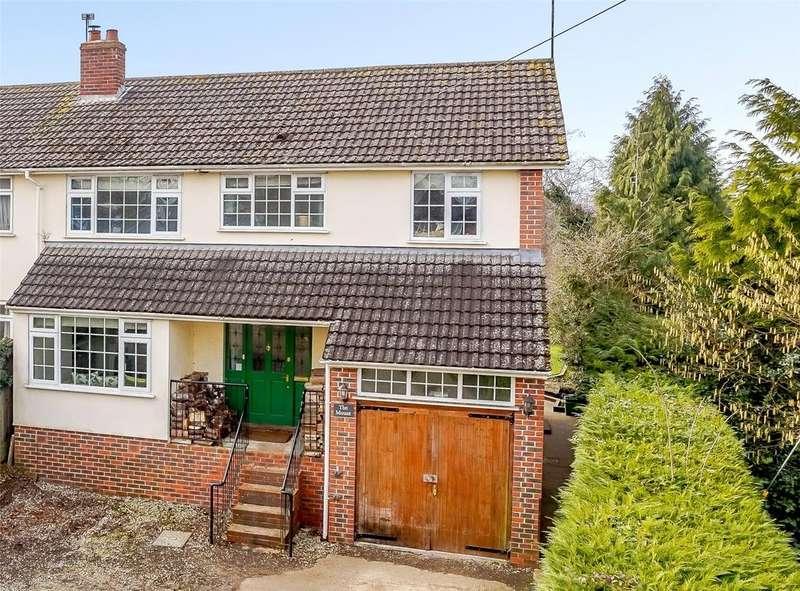 4 Bedrooms Semi Detached House for sale in Heath Road, Bradfield Southend, Reading