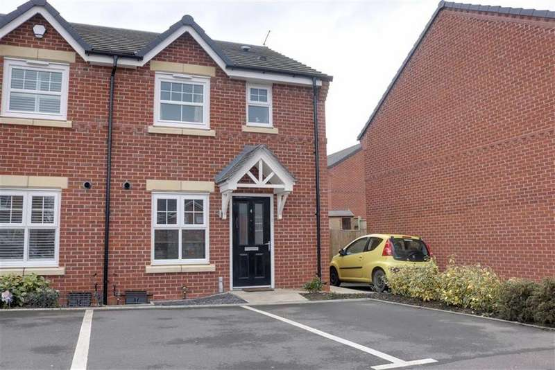 3 Bedrooms End Of Terrace House for sale in Apple Drive, Shavington, Crewe