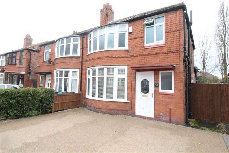 3 Bedrooms Semi Detached House for sale in Fairholme Road, Withington, Manchester