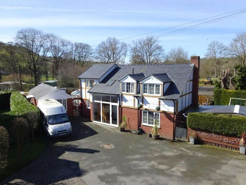 5 Bedrooms Detached House for sale in St Michaels Close, Manafon, Welshpool, Powys