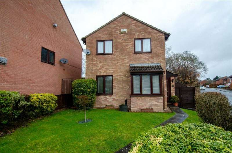 3 Bedrooms Detached House for sale in Peterborough Close, Worcester, Worcestershire, WR5