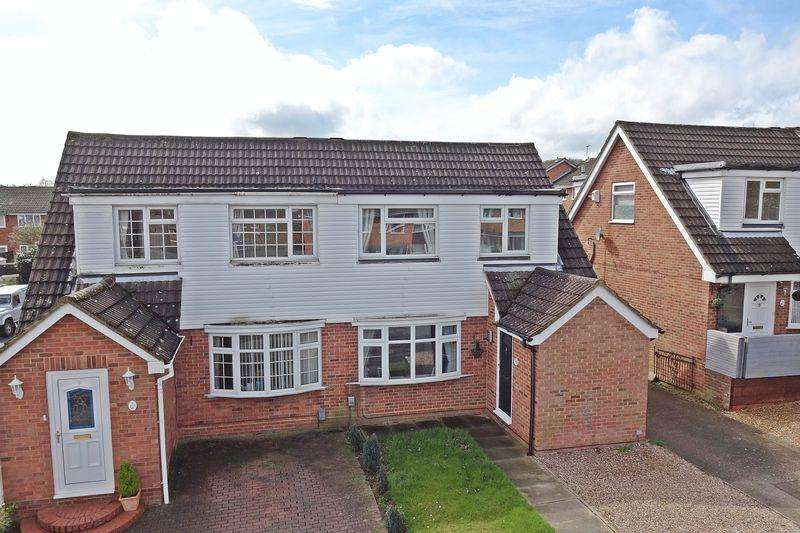 3 Bedrooms Semi Detached House for sale in Primrose Close, Flitwick