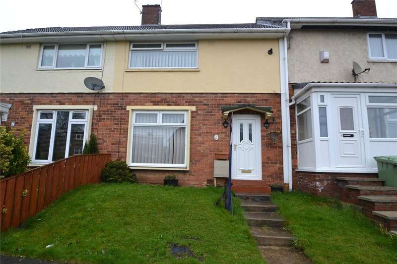 2 Bedrooms Terraced House for sale in Dean Close, Peterlee, Co.Durham, SR8