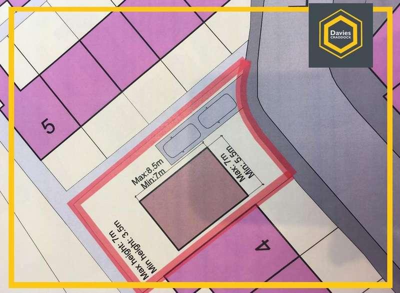 Plot Commercial for sale in Llys Fran, Llanelli, Carmarthenshire, SA15