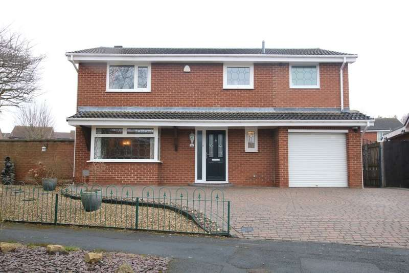 3 Bedrooms Detached House for sale in Wentworth Drive, Washington, NE37