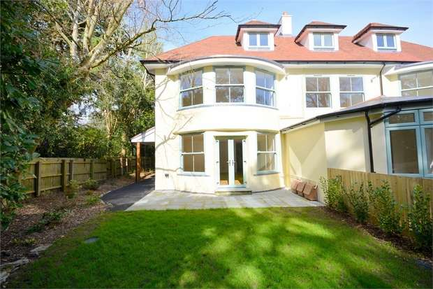 2 Bedrooms Flat for sale in Roslin Road, Talbot Woods, Bournemouth