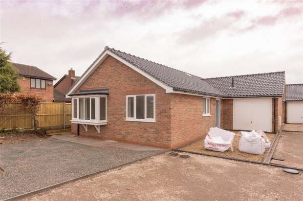 3 Bedrooms Detached Bungalow for sale in Lichfield Road, Handsacre, Rugeley, Staffordshire