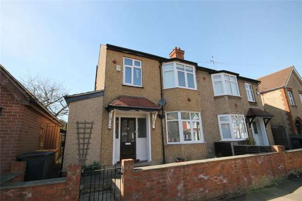 3 Bedrooms Semi Detached House for sale in York Street, Bedford
