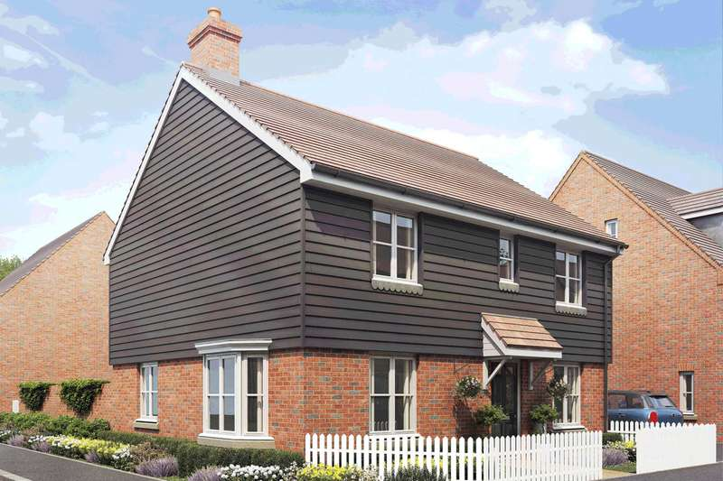4 Bedrooms Detached House for sale in Plot 424, The Shelford, Saxon Fields, Biggleswade SG18 8UG