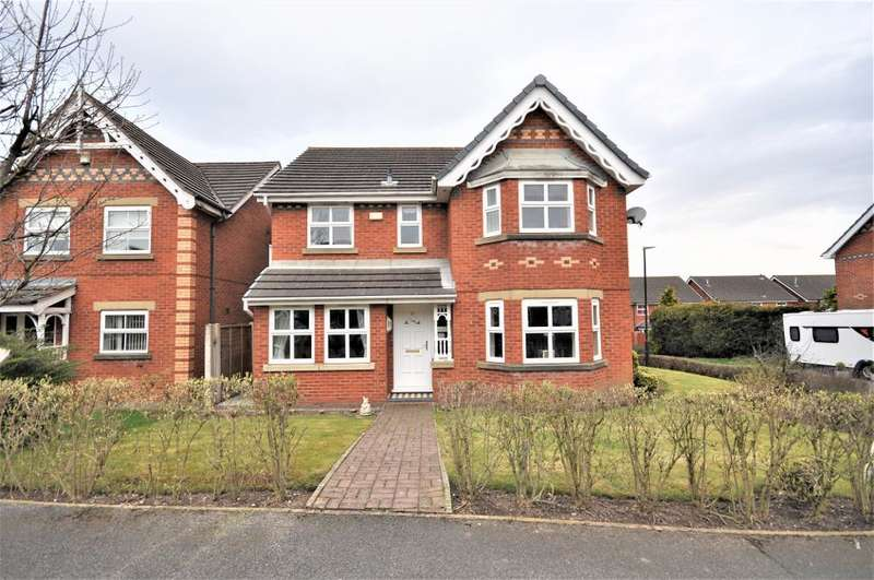 4 Bedrooms Detached House for sale in Alexandra Road, Wesham, Preston, Lancashire, PR4 3JD