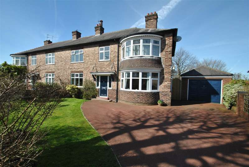 4 Bedrooms Semi Detached House for sale in West Avenue, STOCKTON HEATH, Warrington, WA4