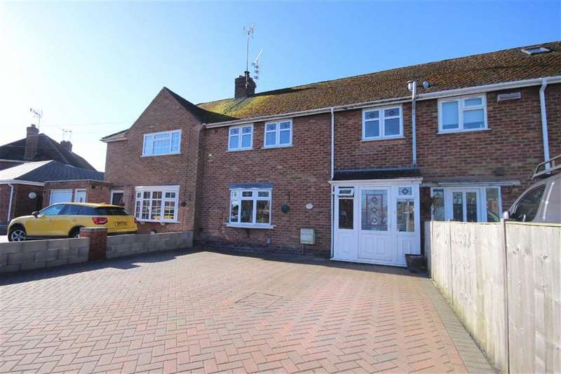 3 Bedrooms Terraced House for sale in Shakespeare Avenue, Warwick, CV34