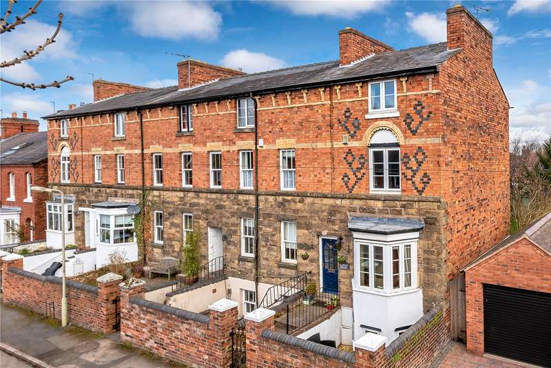 4 Bedrooms End Of Terrace House for sale in London House, 9 Avenue Road South, Newport, Shropshire, TF10
