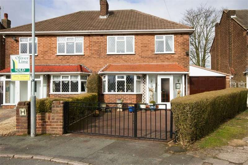 3 Bedrooms Semi Detached House for sale in Long Mill North, Wednesfield, WOLVERHAMPTON, West Midlands