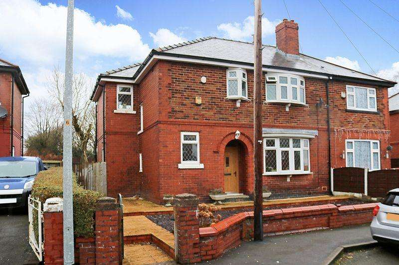 4 Bedrooms Semi Detached House for sale in Rothwell Crescent, Worsley