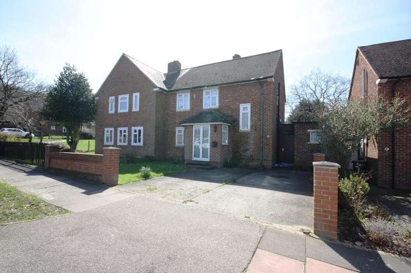 3 Bedrooms Semi Detached House for sale in Laburnum Way, Bromley