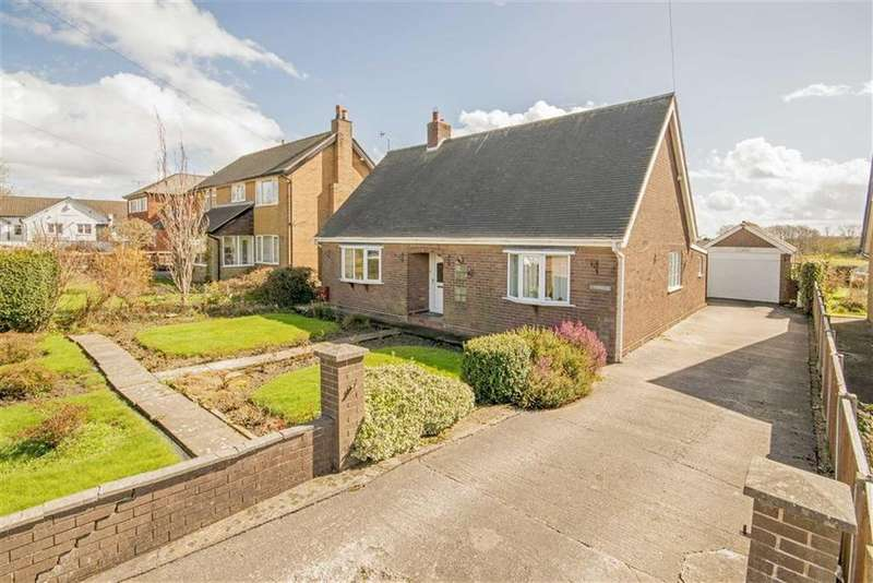 3 Bedrooms Detached Bungalow for sale in Chester Road, Penyffordd, Chester, Flintshire