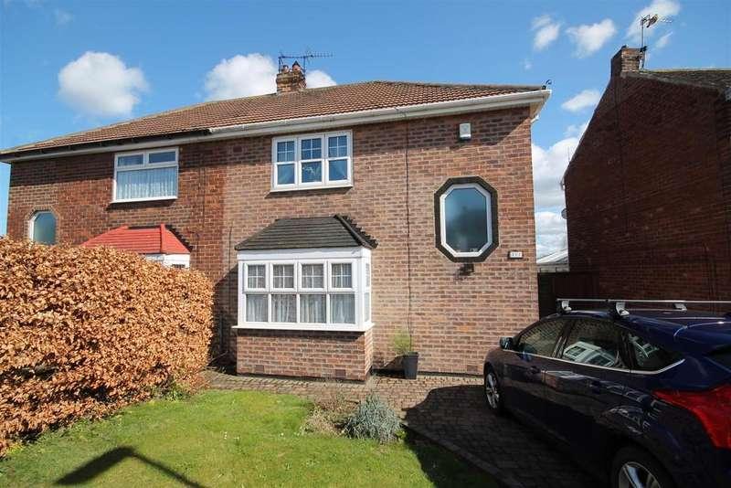 2 Bedrooms Semi Detached House for sale in Kingsley Avenue, Brooke Estate, Hartlepool