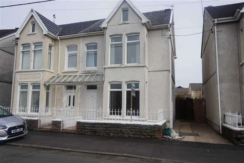 3 Bedrooms Semi Detached House for sale in Llysgwyn Terrace, Swansea, SA4