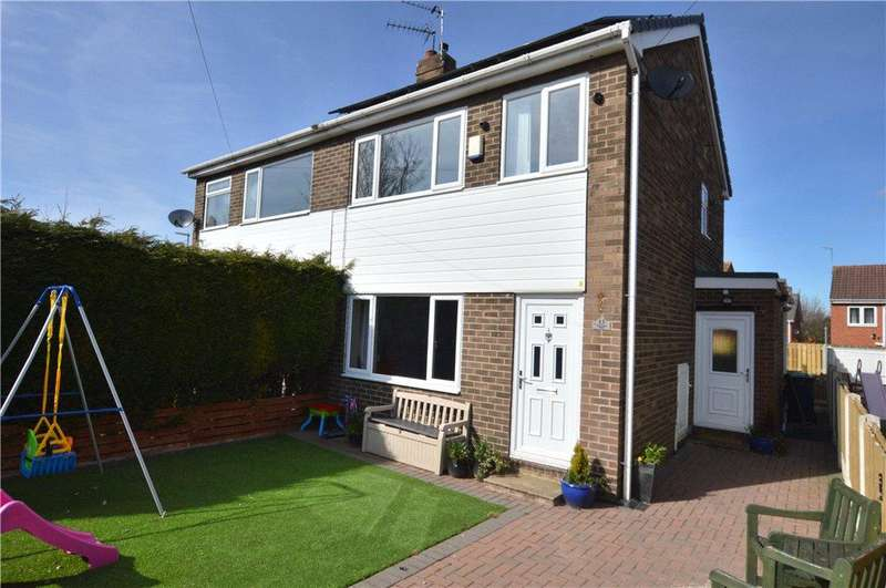 3 Bedrooms Semi Detached House for sale in Westgate Grove, Lofthouse, Wakefield, West Yorkshire