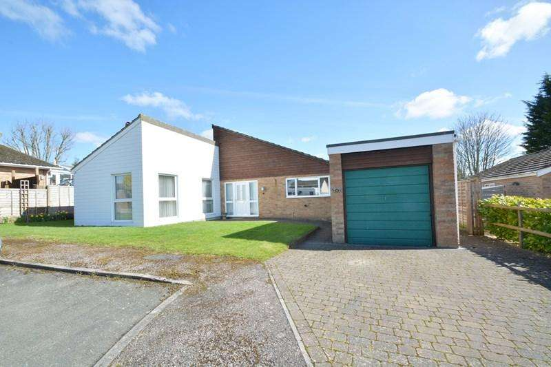 3 Bedrooms Detached Bungalow for sale in Stanbury Close, Thruxton, Andover