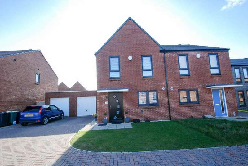3 Bedrooms Semi Detached House for sale in Collin Drive, South Shields